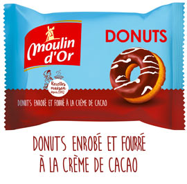 Donuts choco moulindor